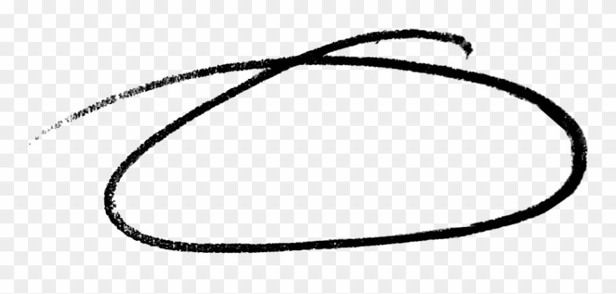 drawn circle white png