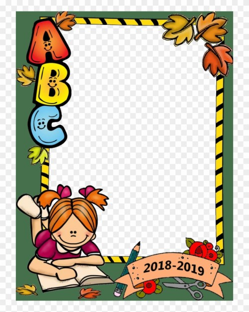 small resolution of school border back to school images beginning of school clipart