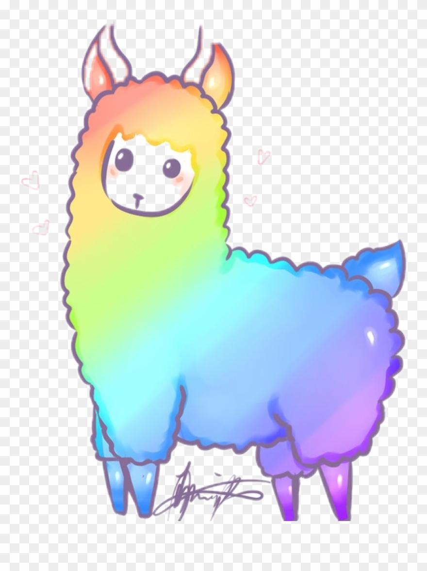 hight resolution of llama clipart picsart cartoon llama png download