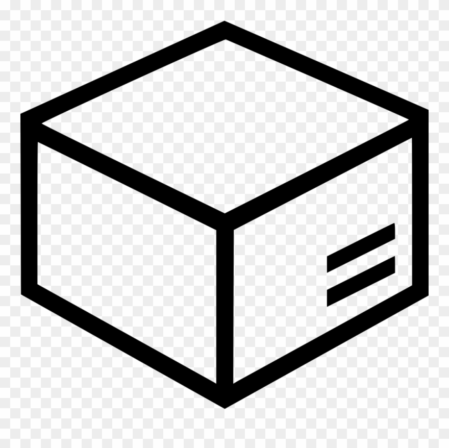 Image Black And White Download Cargo Box Svg Png Icon