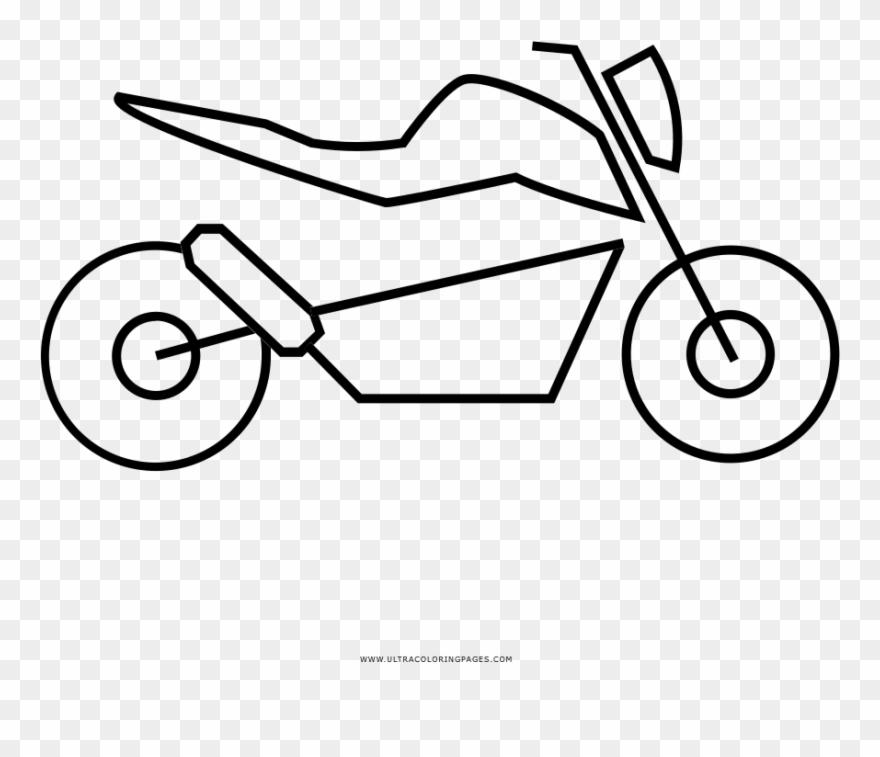 Malvorlage Motorrad Kinder Ausmalbilder