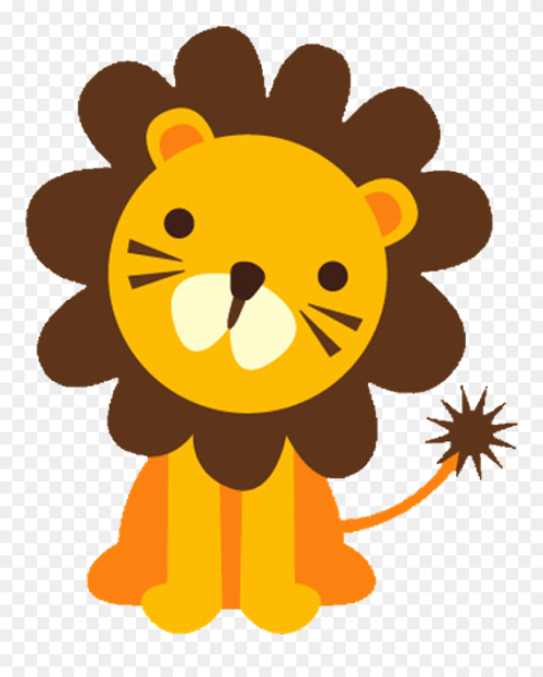 small resolution of baby lion clipart baface 71 with clipart ba shower big and small animals png