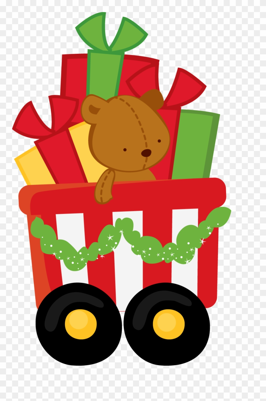 hight resolution of craft christmas train clipart png download