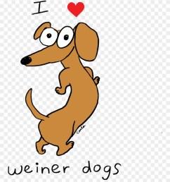i heart dachshund weiner dogs dachshund clipart [ 880 x 1017 Pixel ]