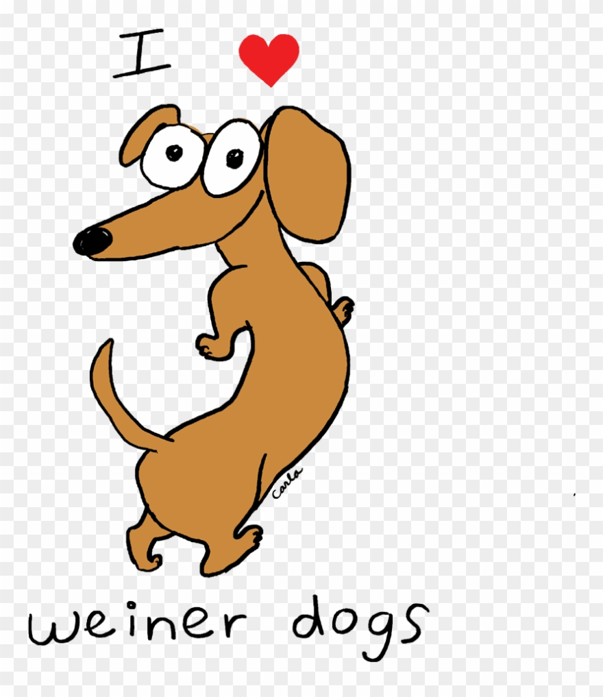 hight resolution of i heart dachshund weiner dogs dachshund clipart