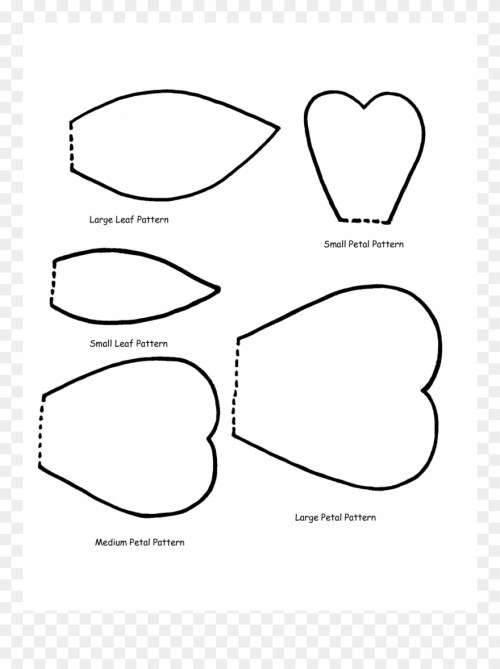 small resolution of huge collection of flower petals clipart download more giant flower printable templates png download