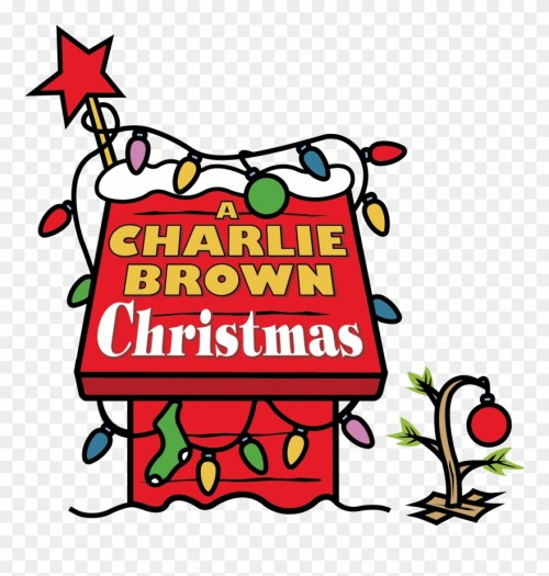 small resolution of snoopy s doghouse charlie brown christmas clipart