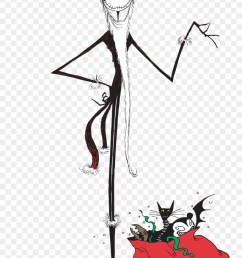 nightmare before christmas jack christmas clipart [ 880 x 1403 Pixel ]