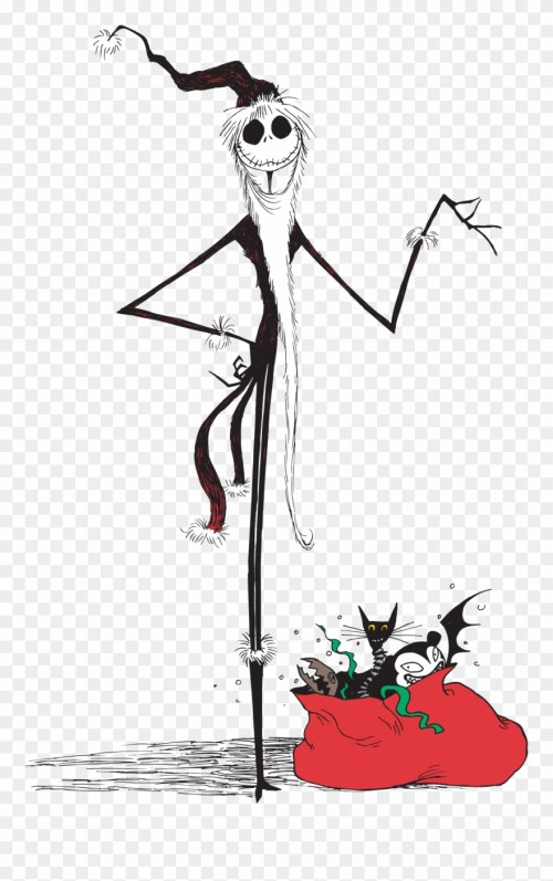 small resolution of nightmare before christmas jack christmas clipart