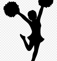 clip free library cheerleading clipart black and white cheer pom poms images png transparent png [ 880 x 1280 Pixel ]