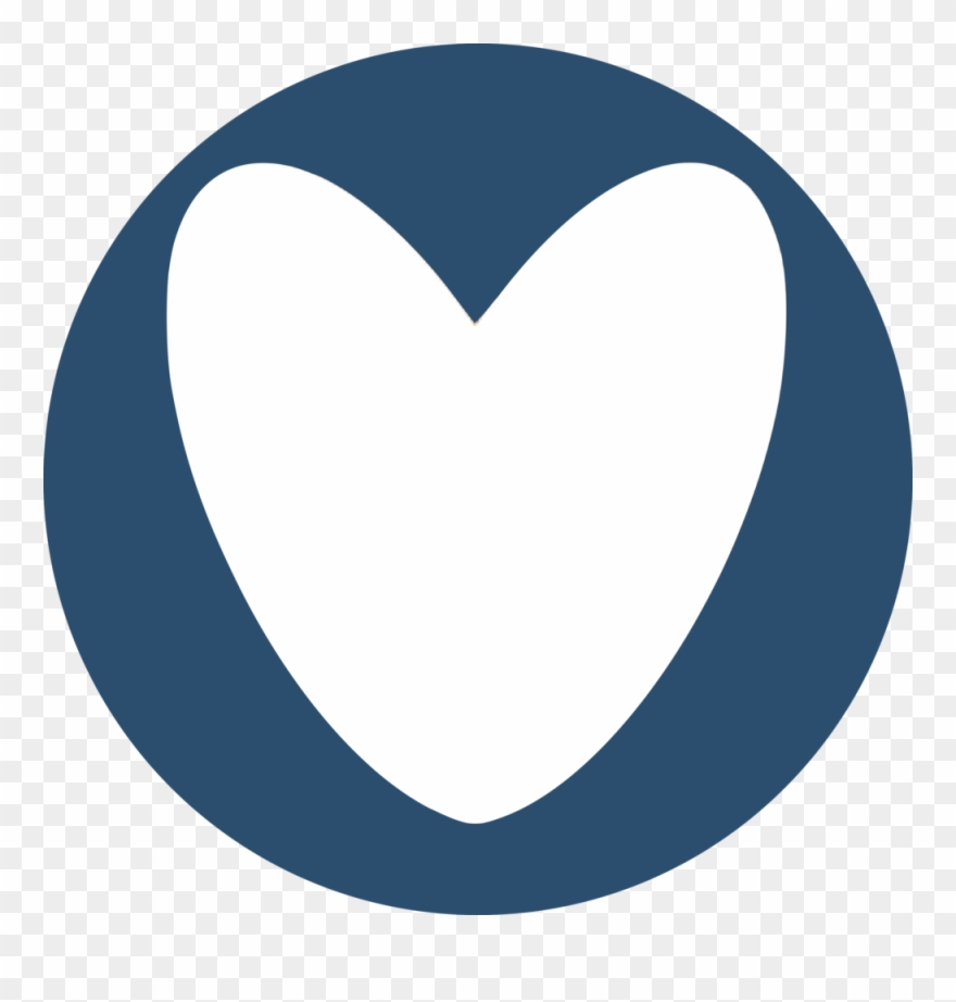 hight resolution of mission initiatives blue heart circle blue clipart