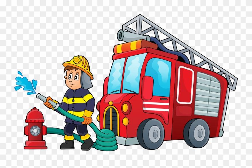cartoon firefighter pictures cartoon
