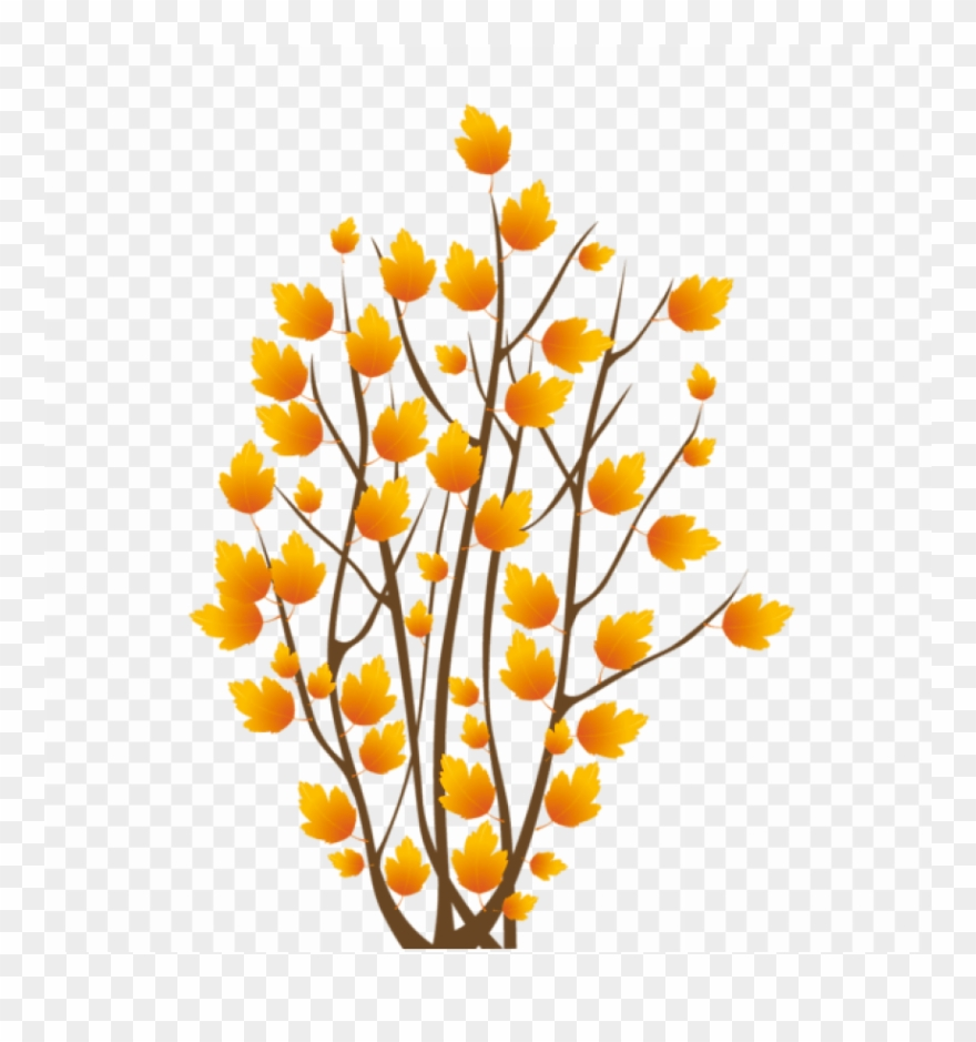 hight resolution of download fall bush png images background autumn icons clipart