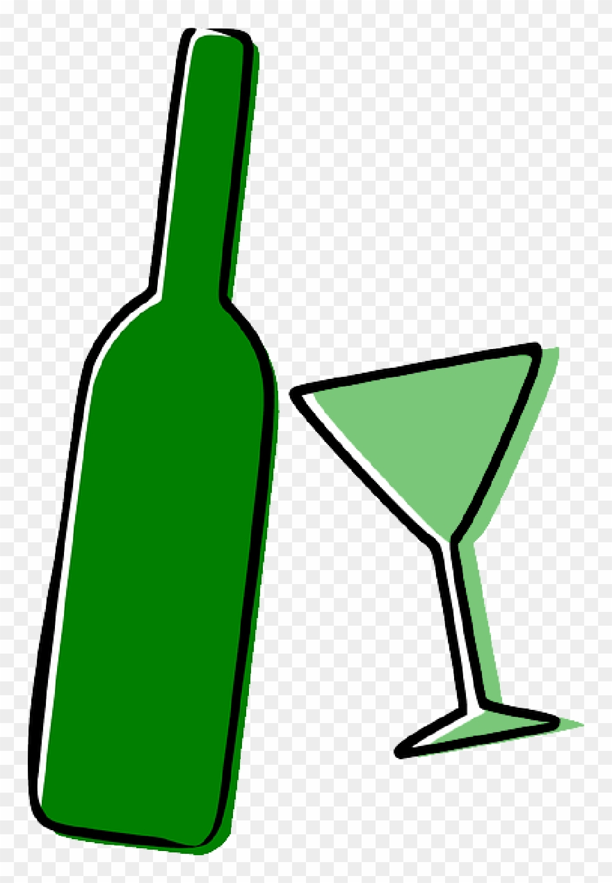 hight resolution of alcohol bottle drinks drunk glass alcohol clipart png download