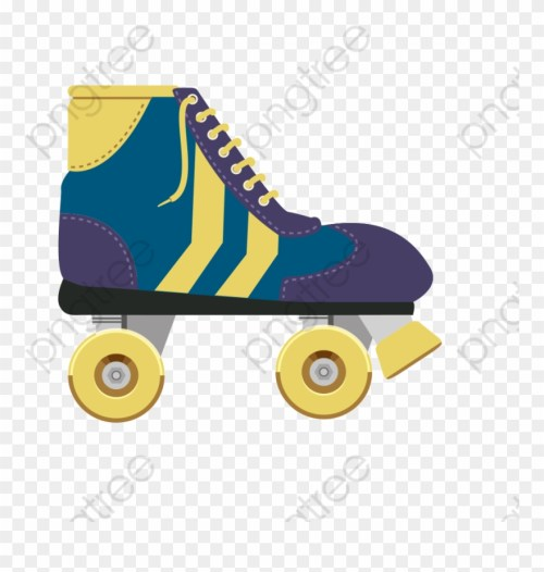 small resolution of roller skate clipart christmas roller skating png download
