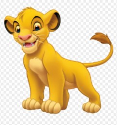 simba sticker disney characters lion king clipart [ 880 x 907 Pixel ]
