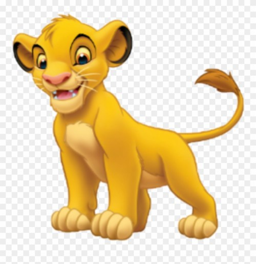 small resolution of simba sticker disney characters lion king clipart