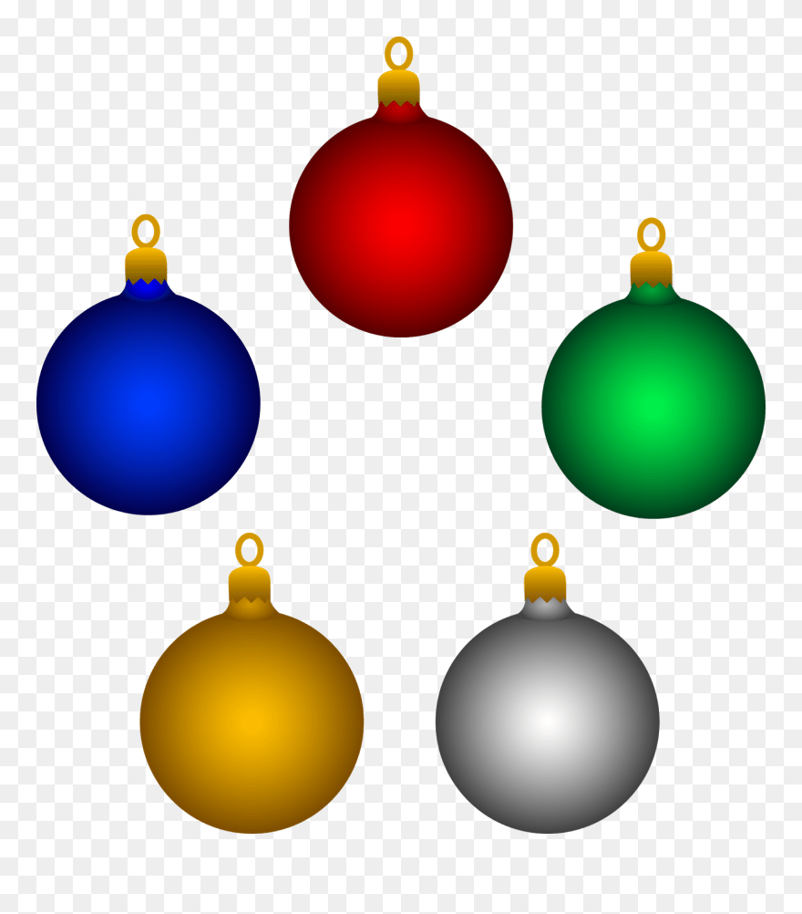Animated Christmas Decorations Clipart Christmas Tree Ornaments Clipart Png Download 4999190 Pinclipart