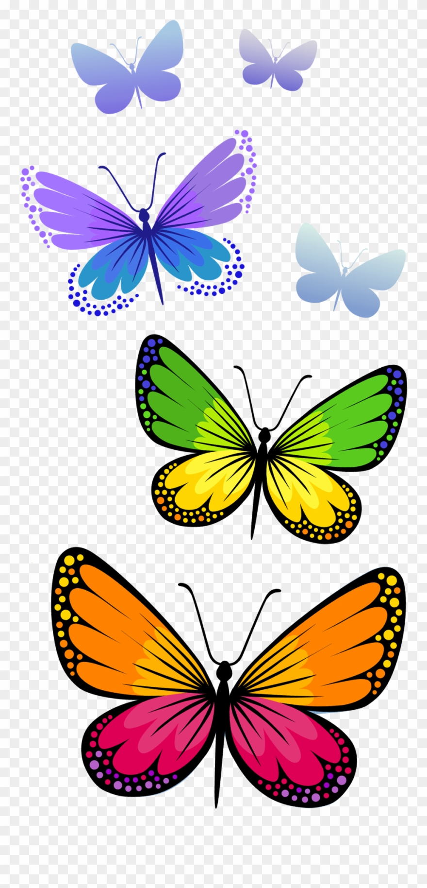 hight resolution of half butterfly cliparts free download clip art png format butterfly clipart png transparent png