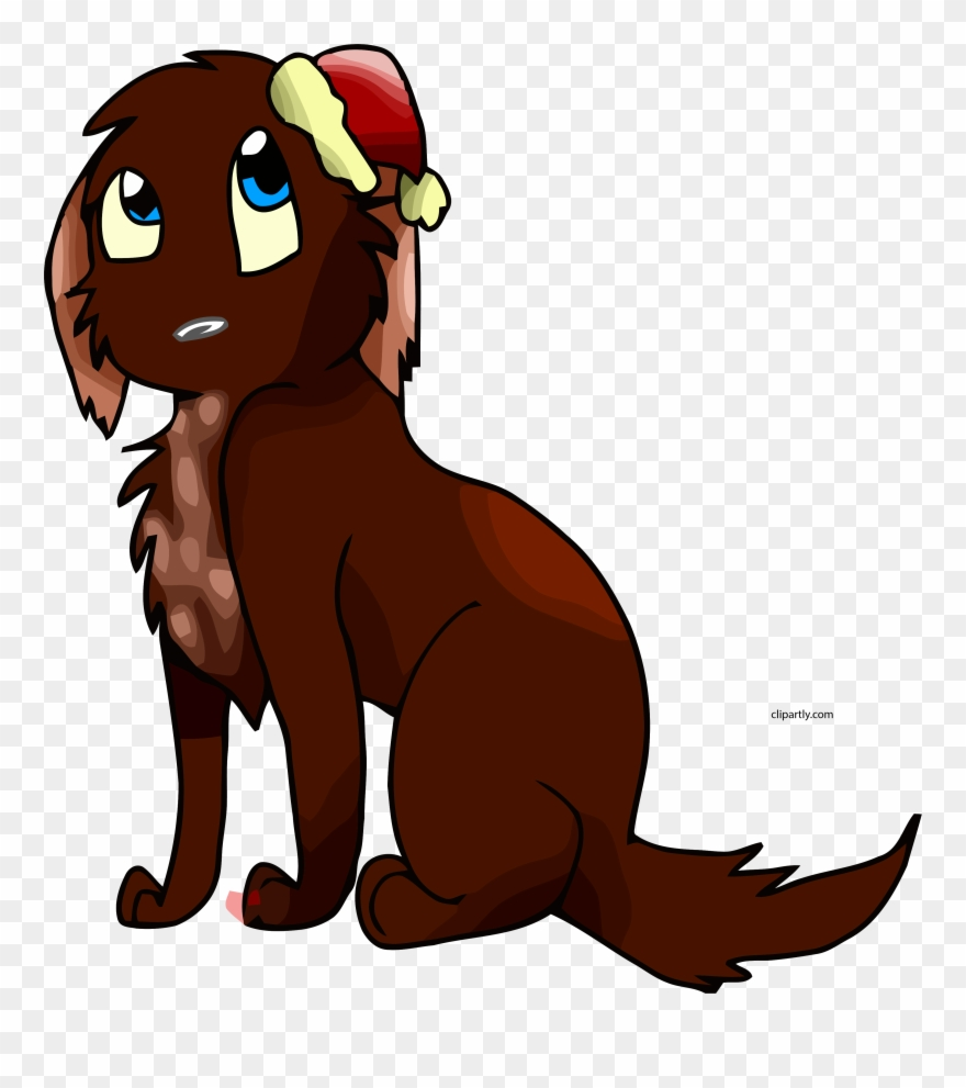 hight resolution of christmas cartoon dog clipart png animated cute christmas pets transparent png