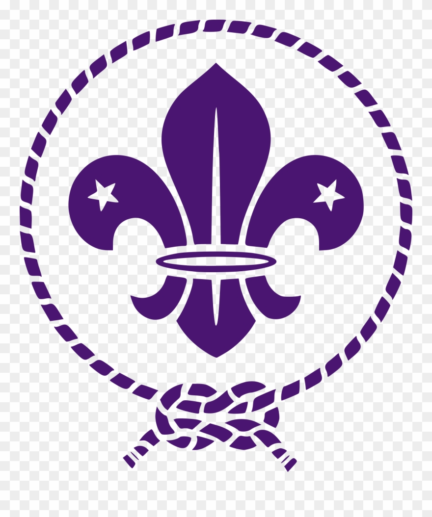 hight resolution of open fleur de lis scouts clipart