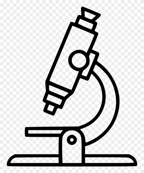 small resolution of microscope clipart clear black and white microscope clipart png download