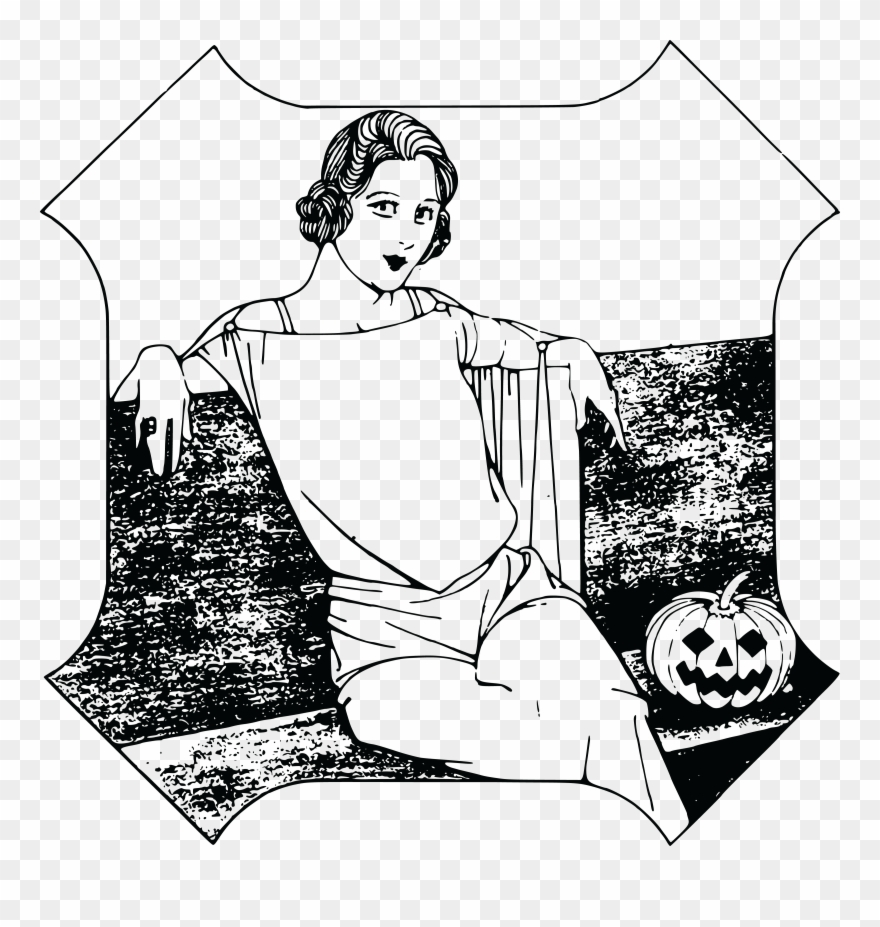 medium resolution of free clipart of a halloween lady happy halloween girl t shirt costume gift trick