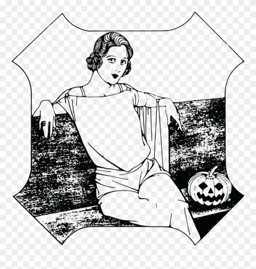 small resolution of free clipart of a halloween lady happy halloween girl t shirt costume gift trick