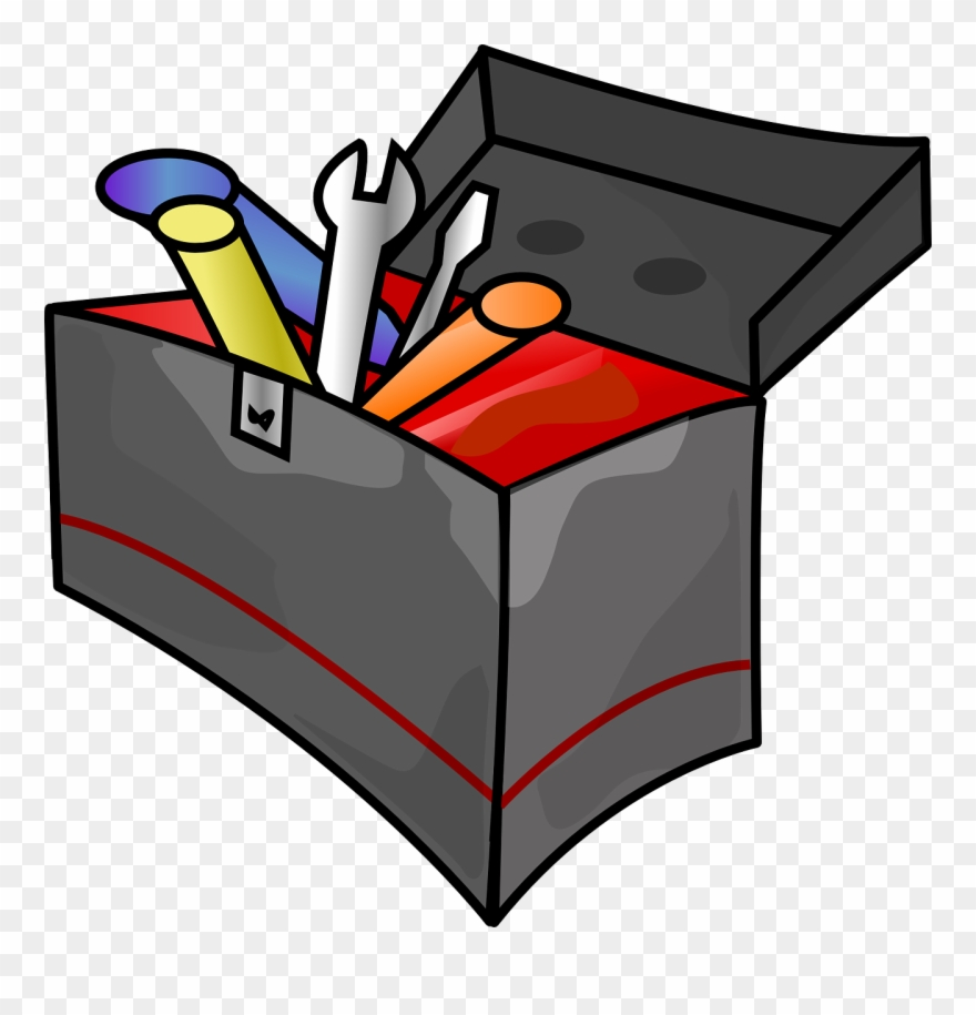 hight resolution of build your teaching toolbox tool box clipart