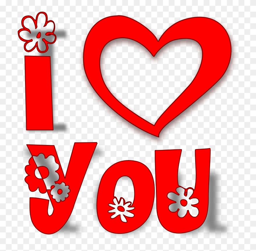 Download You Both Are Loved Clipart Svg Clipart I Love You - Love ...