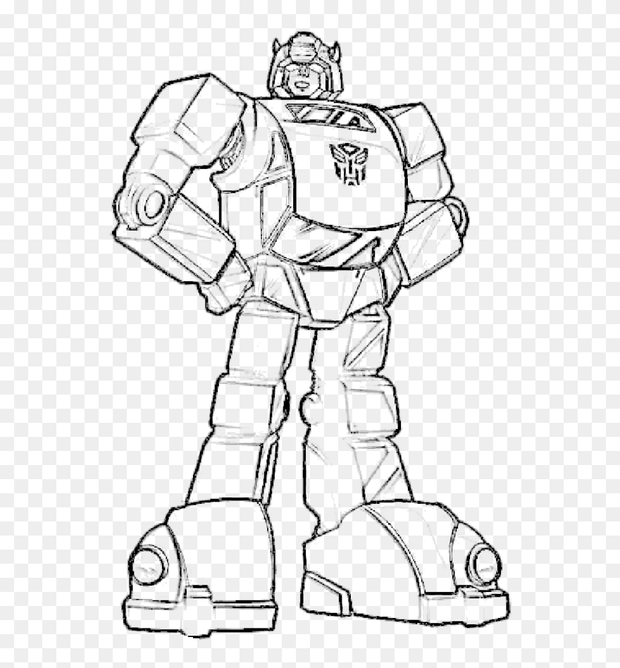 How To Color Transformer Coloring Sheets Free Transformer Clipart 5470320 Pinclipart