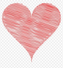 heart clipart scribble love heart clipart png download [ 880 x 913 Pixel ]
