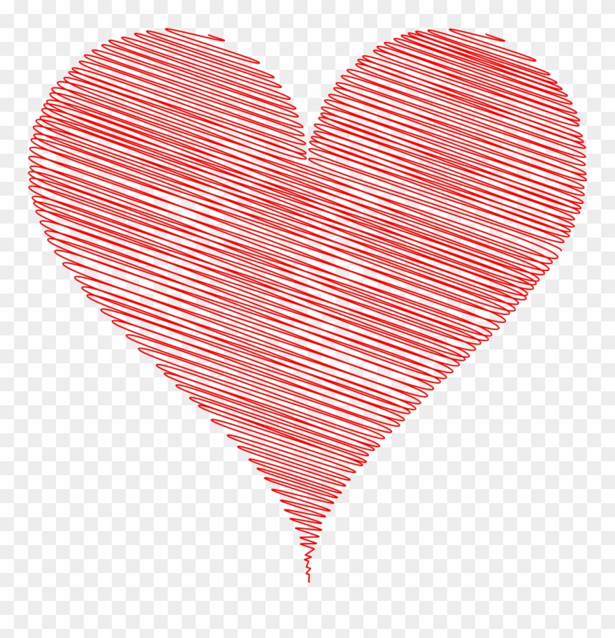 medium resolution of heart clipart scribble love heart clipart png download