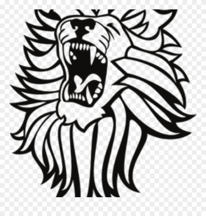 medium resolution of roar lion cliparts roaring lion clipart png download