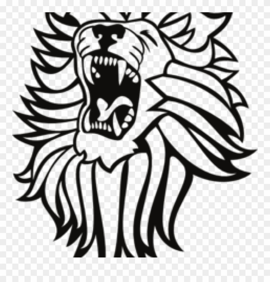 hight resolution of roar lion cliparts roaring lion clipart png download