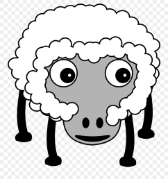 petroglyph sheep with internals small clipart 300pixel farm animals cartoon no background png download [ 880 x 981 Pixel ]