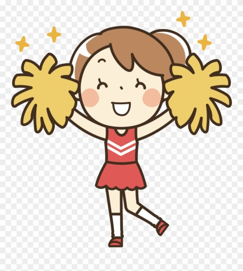 small resolution of remixed icons png free clip art cheerleader transparent png