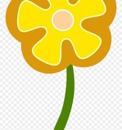 daisy flower clip art simple flower vector png download [ 880 x 1520 Pixel ]