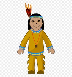 clip art of an american indian indian clipart png download [ 880 x 951 Pixel ]