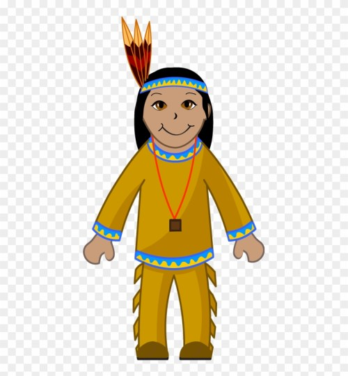 small resolution of clip art of an american indian indian clipart png download