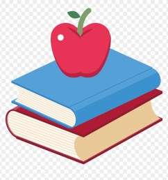 book apple clip art and books png transpa 66533 [ 880 x 913 Pixel ]