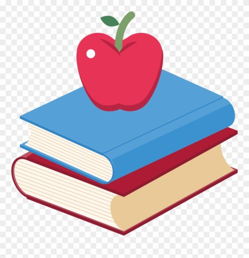small resolution of book apple clip art and books png transpa 66533