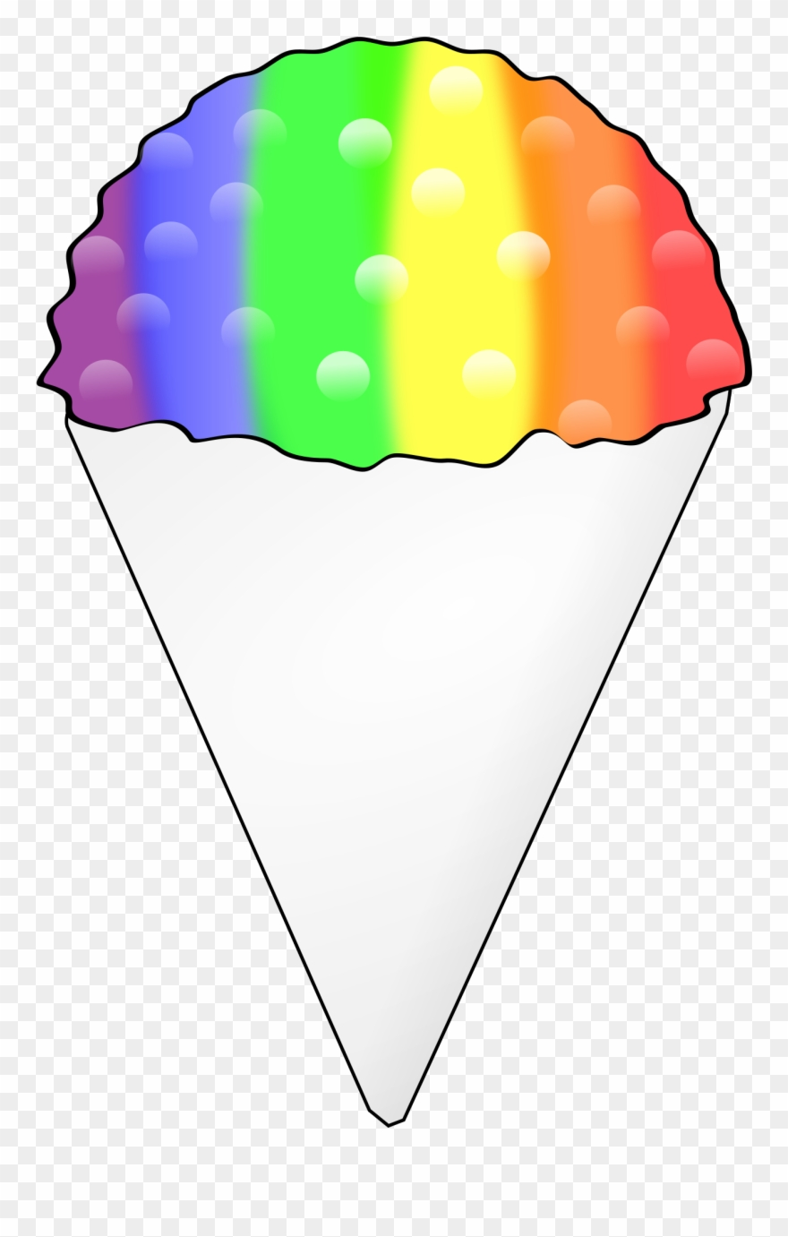 hight resolution of snow cone clipart 3 clip art ice cream png download