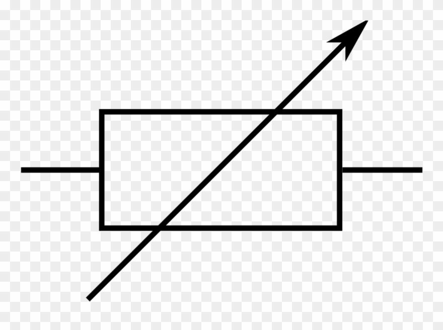 Electronic Symbol Potentiometer Resistor Electronic