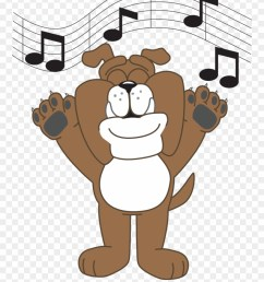 bulldog singing bens branch elementary school clipart [ 880 x 1120 Pixel ]