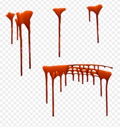 orange drip png red png transparent blood trickle clipart [ 880 x 956 Pixel ]