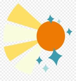a sun rays with sparkles my little pony sunburst cutie mark clipart [ 880 x 939 Pixel ]