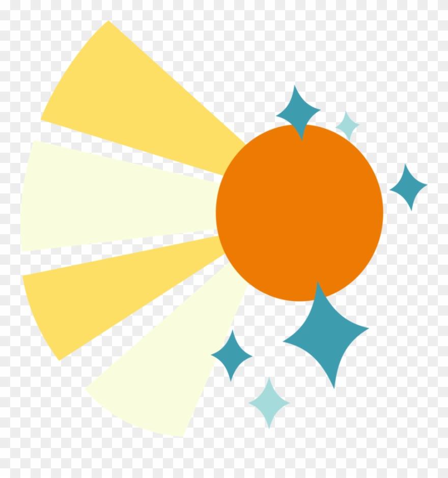 hight resolution of a sun rays with sparkles my little pony sunburst cutie mark clipart