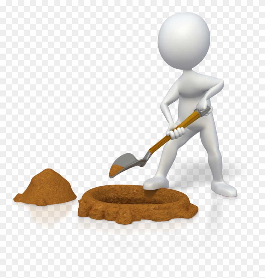 medium resolution of finding the right life coaching services for your business digging person png cartoon clipart
