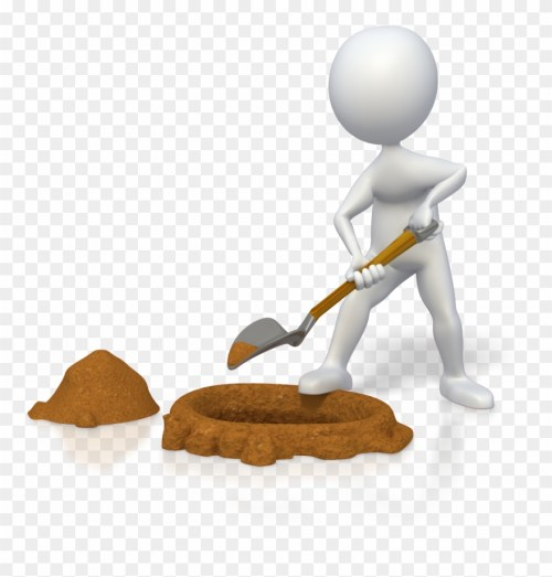 small resolution of finding the right life coaching services for your business digging person png cartoon clipart